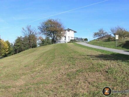 Baugrundstück mit toller Aussicht in der Golf- u. Thermengemeinde Stegersbach
