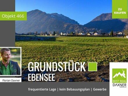 Grundstück in Ebensee (MB) in frequentierter Lage zu verkaufen!