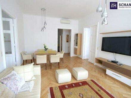 SCHNELL EINZIEHEN! Voll möblierte Luxus-Wohnung in repräsentativen Gründerzeithaus!