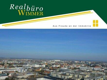 4-Zimmer-Wohnung mit traumhaftem Blick über ganz Wels - NEUER PREIS