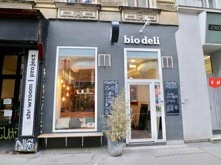 Gastronomielokal auf der Gumpendorfer Straße