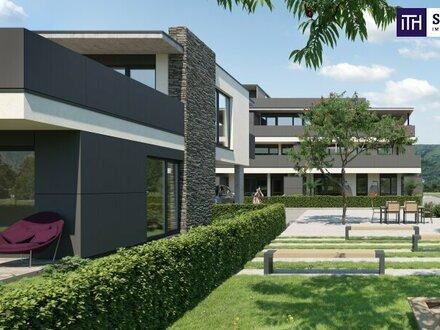 ITH BESSER GEHT NICHT! TRAUM-PENTHOUSE mit ca. 87 m² SONNENTERRASSE+FERNSICHT in FOHNSDORF NÄHE THERME und RED-BULL RING.