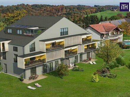 MIT DER SONNE AUFSTEHEN! Wunderschöne 72 m² Wohnung! Inkl. Balkon, Wellnessbereich & Außenpool + Frühstücks-, Wäsche- und…