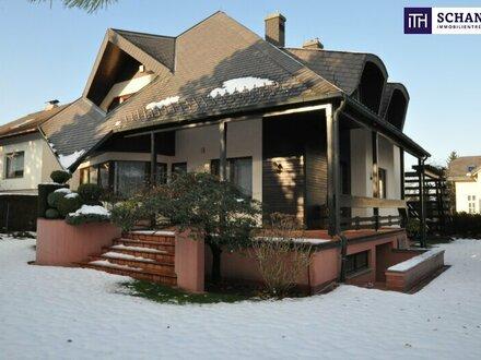 Rarität: Architektenhaus in Top-Zustand in begehrter ruhiger Lage an der Grenze zu Mödling!