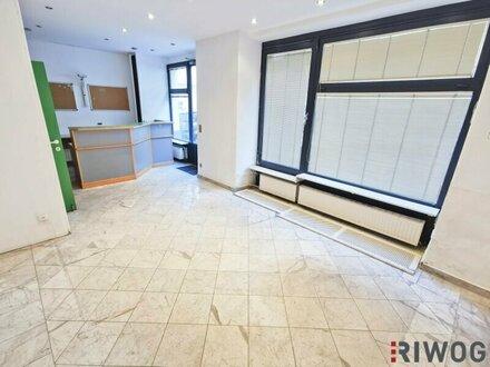 Geschäftslokal/Büro mit 83m² und Auslagefläche!