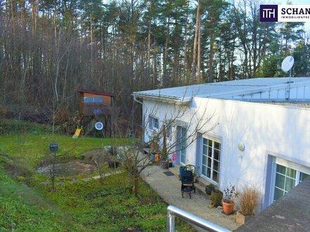 ITH - Wunderschöne Villa am Rosenhain - in absoluter Ruhelage - 2 Carports - 544m² Eigengarten!
