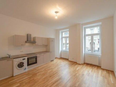 ++NEU++ Hochwertige 1-Zimmer Altbau-Wohnung mit Hofterrasse in guter Lage!