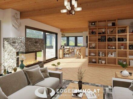 5753 Saalbach/ Hinterglemm: Neubau ! Landhausstil, Einfamilienhaus 210m² Whnfl, 5 Zimmer, Sauna, Eigengarten, sonnig, Carport,…