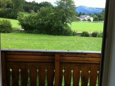 Garconniere in Elsbethen mit großem Balkon und traumhaftem Blick ins Grüne
