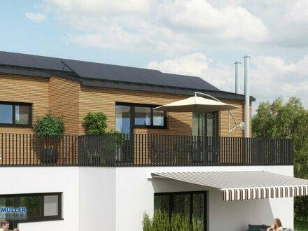 Stylisch Wohnen im Seengebiet - Topmoderne 3-Zimmer-Terrassen-Wohnung ganz oben