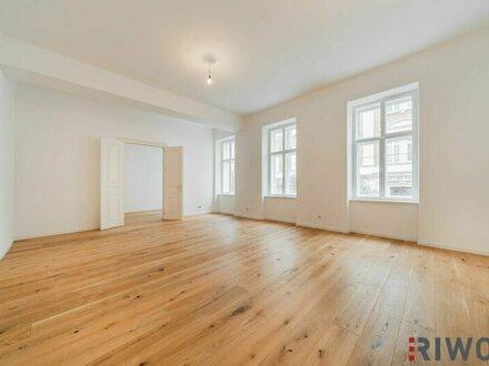 ++ Klassicher STIL-ALTBAU beim RAIMUND THEATER ++ Optimale 4-Zimmerwohnung in Ruhelage mitten im Sechsten ** 3,30 m Raumhöhe!!
