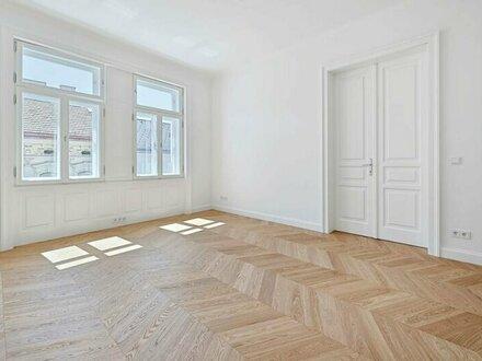 THE FLATIRON VIENNA! Hochwertig sanierter Stil-Altbau im 4. Liftstock