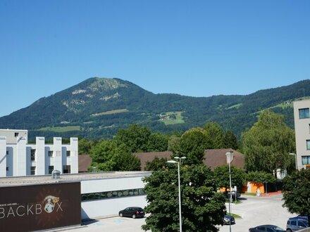 Gemütliche Garconniere mit Blick auf den Gaisberg!