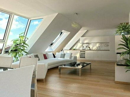 Luxuriöse 4-Zimmer Dachgeschosswohnung in Wien Innenstadt