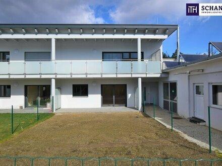Idyllische Zwei- Zimmer Wohnung mit Eigengarten + großer Terrasse! Genießen Sie die Ruhe! SOFORT VERFÜGBAR!!