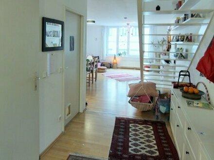 MAISONETTE am KUTSCHKERMARKT - Helle 90m² Wohnung mit Terrasse und Garten - 1180 Wien