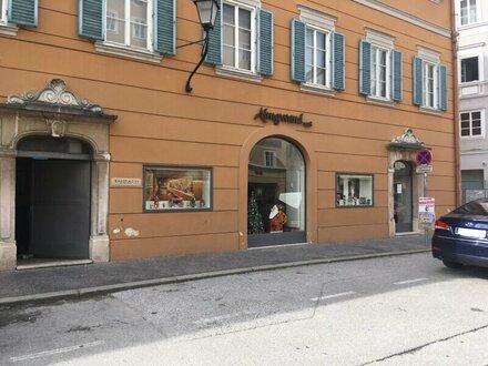 Geschäftslokal im Herzen Salzburgs - Mozartplatz