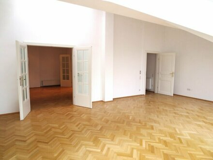 Exklusive 3-Zimmer-Dachgeschosswohnung, nähe Naschmarkt