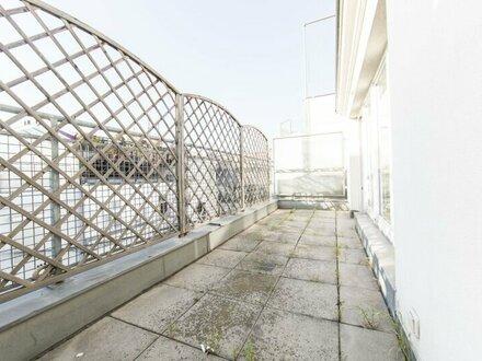 BEZAUBERNDE Dachgeschosswohnung mit Terrasse mit wundervollem Blick über Wien!
