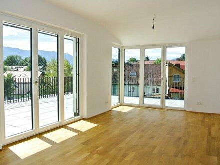 Penthouse: Moderne 3-Zimmer-Wohnung mit XL-Terrasse