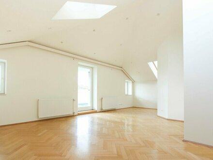 Großzügige DG-Wohnung mit 22m² Terrasse in Hietzinger Cottage Lage