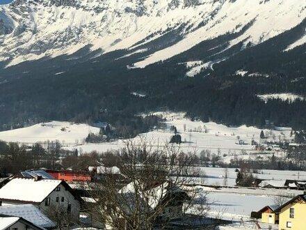 675m² Baugrundstück in sonniger, ebener Lage mit Bergblick - alle Anschlüsse befinden sich bereits auf dem Baugrund