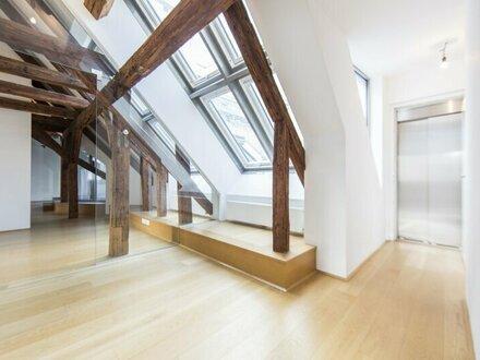 Exklusive DG-Wohnung mit Terrasse im Herzen der Innenstadt zu vermieten!