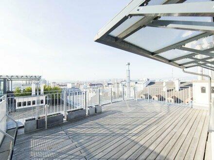 TRAUMHAFTE 2-Zimmer DG-Wohnung mit Dachterrasse- unbefristet zu vermieten!