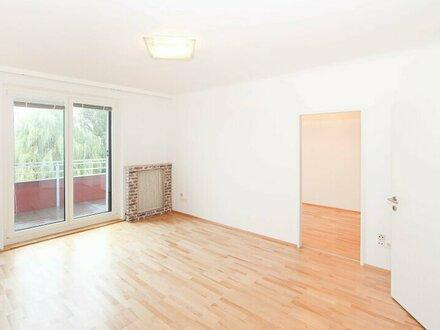 3-Zimmer Wohnung mit Balkon, Ruhelage und Grünblick