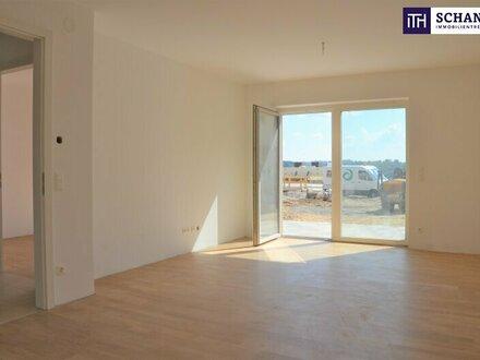 ITH: SONNE PUR! 2-Zimmer Gartenwohnung! Ideal für Singles oder Pärchen! Lichtdurchflutet + Großzügige Terrasse + Südwestlage!