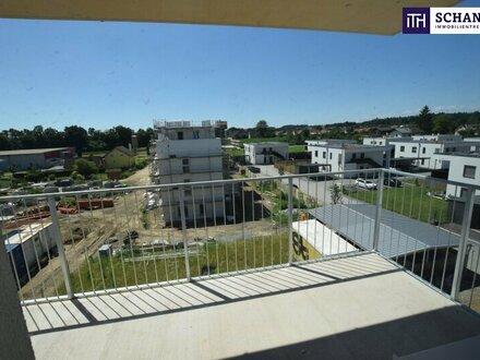 PROVISIONSFREI + ON THE TOP! Elegante Neubauwohnung mit 3Zi und großem Balkon!
