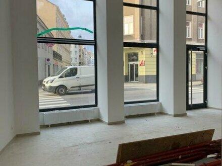 Geschäftslokal in Frequenzlage mit großen Fensterflächen!