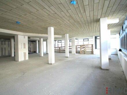 1.145m² Geschäftslokal im Edelrohbau in werbewirksamer Lage!