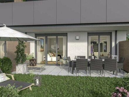 Familienglück: 4 Zimmer Maisonette Wohnung mit großem Garten