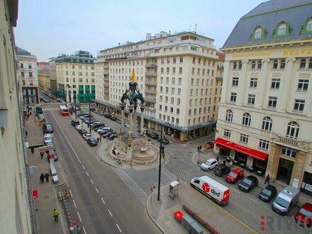Direkt am Hohen Markt - Garconniere-Wohnung in bester Lage! / Single apartment for higher demands!