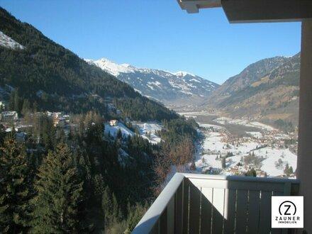 Bad Gastein: 4-Zi.-Ferienwohnung mit herrlichem Panoramablick