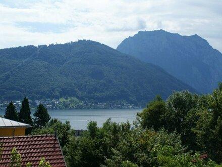 Altbauwohnung im Gmundner Villenviertel mit See-/Traunsteinblick