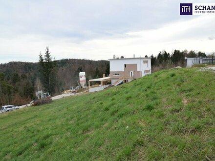 NICHT LÄNGER ZÖGERN: IDEAL GELEGENES Grundstück für Eigenheim-Bauer! Tolle Infrastruktur + Sonnenlage + Fernblick in 8075…