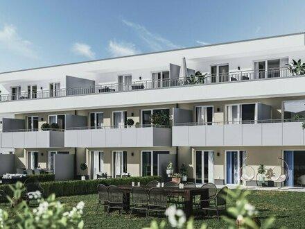 Wohlfühlfaktor: 3 Zimmer Wohnung mit großem Balkon