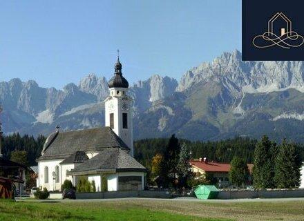Schickes Apartment mit Blick über die Kitzbühler Bergwelt