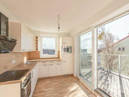 ++NEU** 3-Zimmer DG-ERSTBEZUG, Maisonette mit Terrassen und Balkon, gute Ausstattung, tolle Lage!