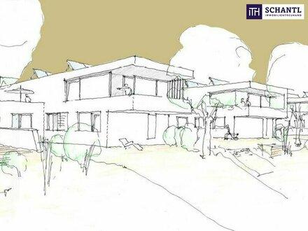 GREIFEN SIE ZU: Architekten-Villa mit großartigem Terrassen + Garten + Abstellplätze inklusive!