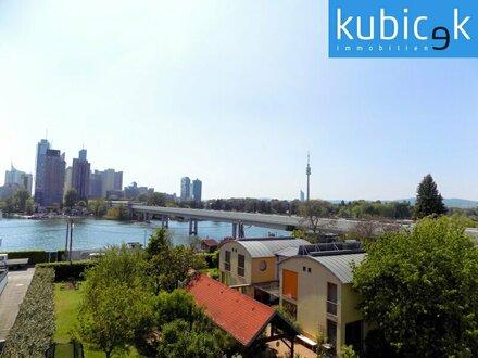 Alte Donau - Exklusiv mit Wasserblick