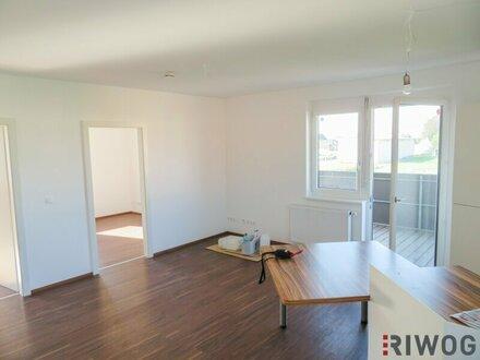 Topsanierte 3-Zimmer-Neubauwohnung mit großem Balkon und Fernblick in moderner Anlage! Provisionsfrei für den Mieter!