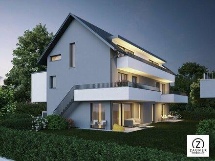 Koppl: 4-Zi.-Maisonettewohnung (1.OG + DG.) mit 2 Terrassen und Weitblick