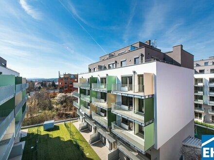 Erstklassige Garten Maisonette Wohnung – ERSTBEZUG