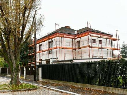 Neu saniertes Haus mit 6-Zimmer und Garten auf Eigengrund an der Alten Donau