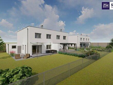 Provisionsfrei für den Käufer! Doppelhaushälfte mit perfekter Raumaufteilung und tollem Blick ins Grüne!