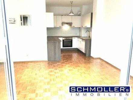 Helle 2 Zimmer-Wohnung mit Südbalkon in zentraler Lage