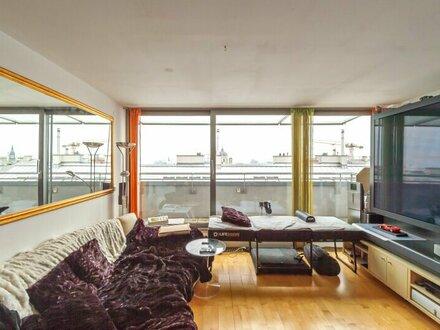 ++NEU** 3-Zimmer DG-Maisonette mit 38m² Balkon/Terrasse, WEITBLICK, absolute BESTLAGE! unbefristet!